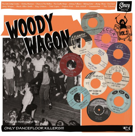 WOODY WAGON Volume 3 LP