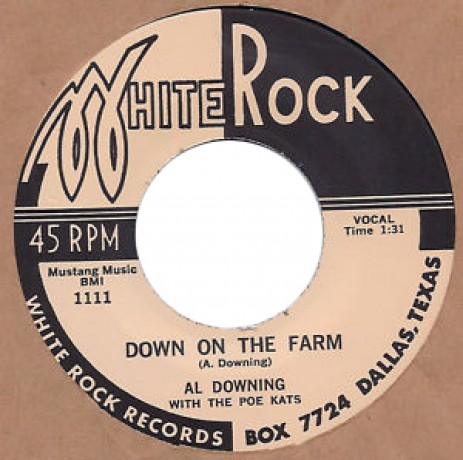 "AL DOWNING ""DOWN ON THE FARM / OH BABE"" 7"""