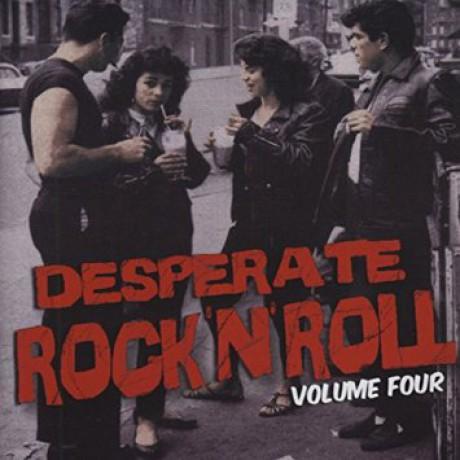 DESPERATE ROCK'N'ROLL VOLUME 4 CD