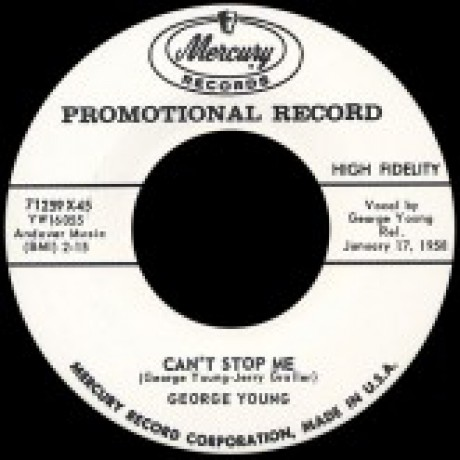 "GEORGE YOUNG ""CAN'T STOP ME"" / JOHNNY COPELAND ""ROCK AND ROLL LILLY"" 7"""