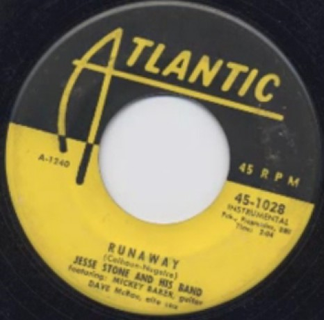 """JESSE STONE AND HIS BAND """"RUNAWAY"""" / JIMMY LEWIS """"LET'S GET TOGETHER & MAKE SOME LOVE"""""""