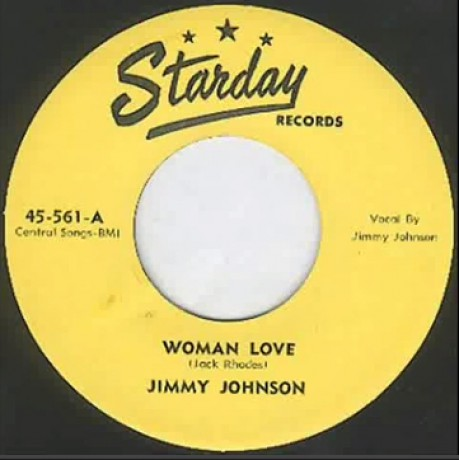 """JIMMY JOHNSON """"Woman Love / All Dressed Up"""" 7"""""""