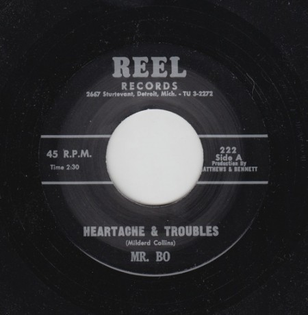 "MR. BO ""HEARTACHE & TROUBLES"" / ARRON McCRAY ""INTER SANTUM"" 7"""