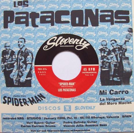 """PATACONAS, LOS """"SPIDER-MAN"""" 7"""""""