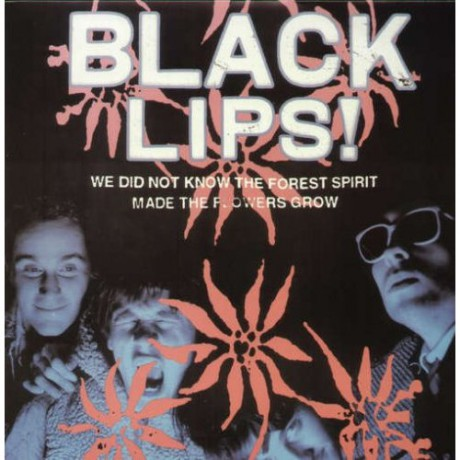 """BLACK LIPS """"We Did Not Know The Forest Spirit Made The Flowers Grow"""" LP"""