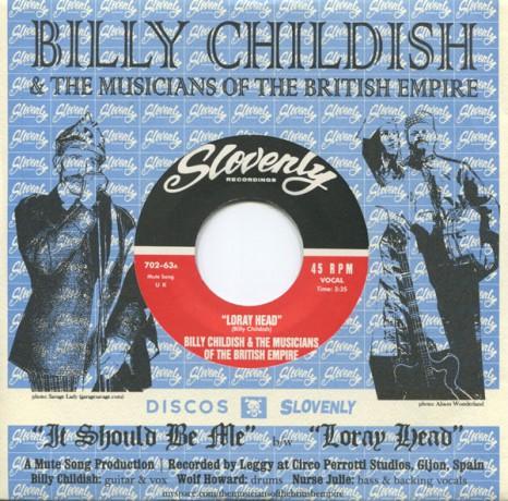 """BILLY CHILDISH & MOTBE """"IT SHOULD BE ME"""" 7"""""""