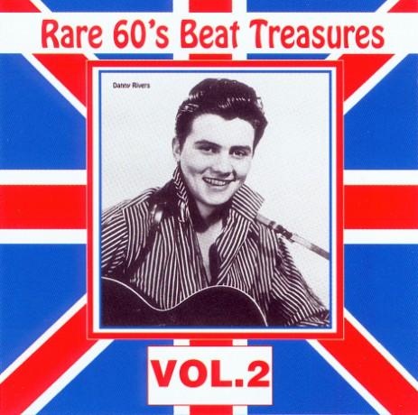 RARE 60'S BEAT TREASURES Volume TWO cd