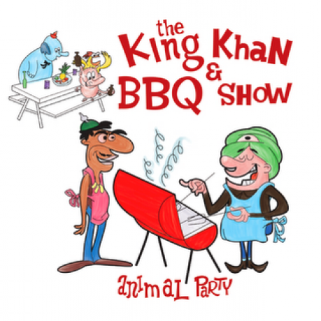 "KING KHAN & BBQ SHOW ""ANIMAL PARTY?God Of Raisins"" 7"""