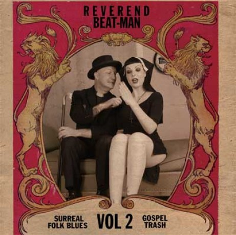 "REVEREND BEAT-MAN ""Surreal Folk Blues Gospel Trash Vol 2"" LP"