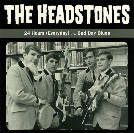 """HEADSTONES """"24 HOURS/BAD DAY BLUES"""" 7"""""""