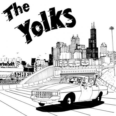 "YOLKS ""S/T"" LP"