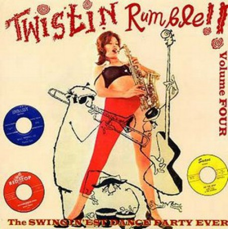 TWISTIN' RUMBLE VOLUME 4 LP