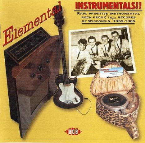 ELEMENTAL INSTRUMENTALS! CUCA RECORDS STORY CD