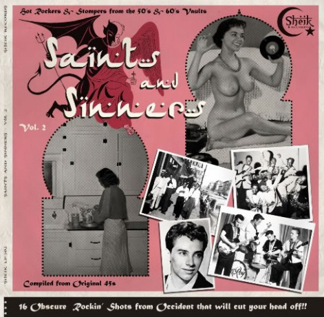SAINTS AND SINNERS VOL 2 LP