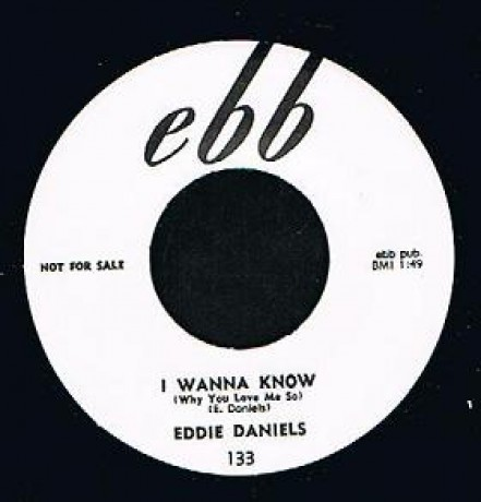 "EDDIE DANIELS ""I WANNA KNOW/MARDI GRAS"" 7"""
