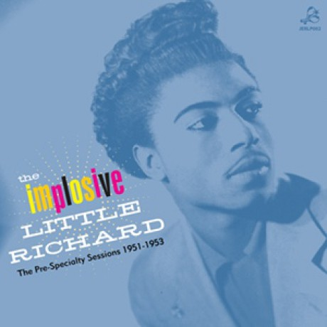 "LITTLE RICHARD ""THE IMPLOSIVE..."" LP"