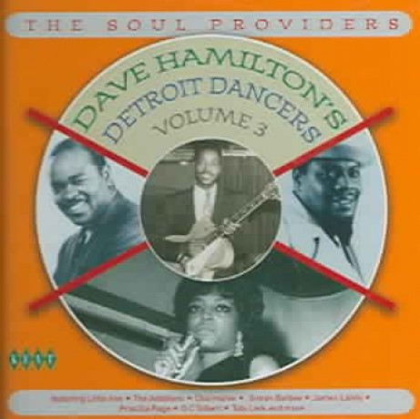 DAVE HAMILTON'S DETROIT DANCERS VOL 3 CD