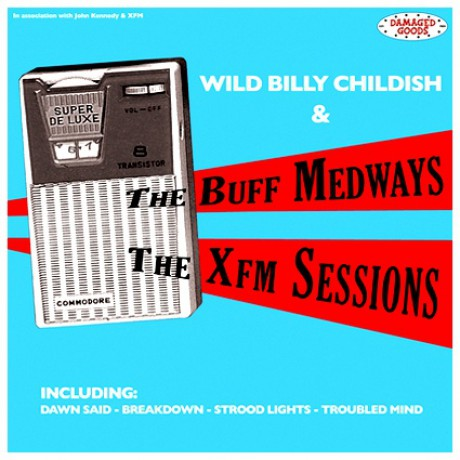 """BUFF MEDWAYS """"THE XFM SESSIONS"""" LP"""