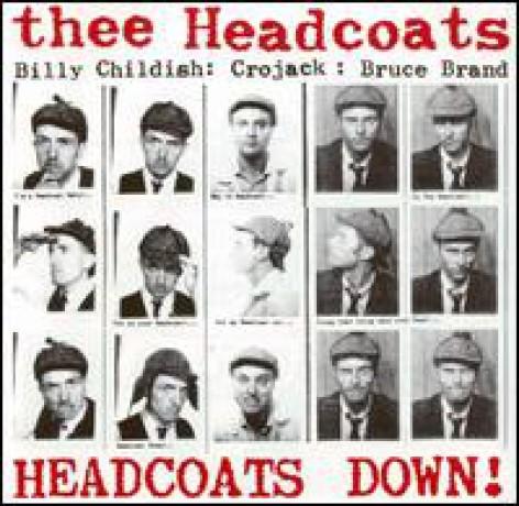 "HEADCOATS ""Headcoats Down"" CD"