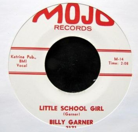 "Billy Garner ""Little Schoolgirl"" / Mac Rebennack ‎""Storm Warning"" 7"""