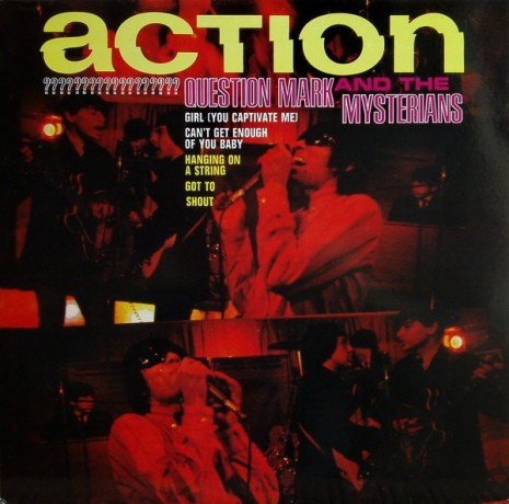 """QUESTION MARK & MYSTERIANS """"ACTION"""" LP"""