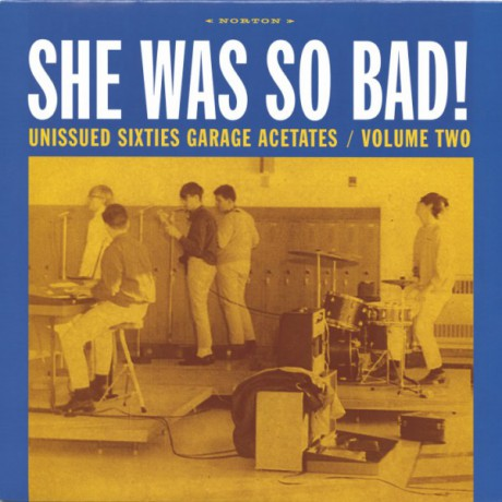 "GARAGE ACETATES Volume 2: SHE WAS SO BAD"" LP"