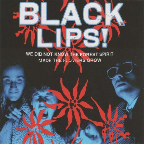 "BLACK LIPS ""WE DID NOT KNOW.."" CD"