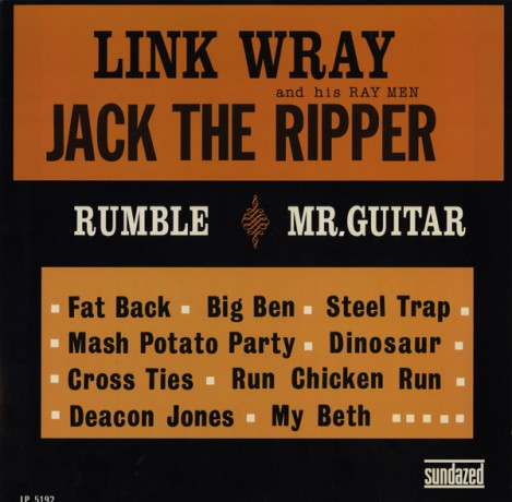 """LINK WRAY & HIS RAY MEN """"JACK THE RIPPER"""" LP"""