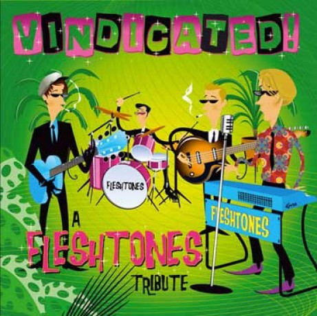 VINDICATED! A FLESHTONES TRIBUTE LP
