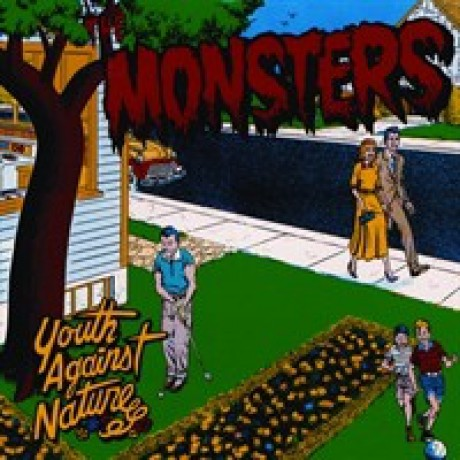 "MONSTERS ""YOUTH AGAINST NATURE"" cd"