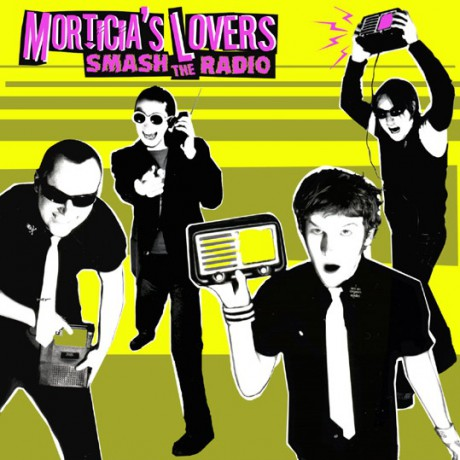 "MORTICIAS LOVERS ""SMASH THE RADIO"" LP"