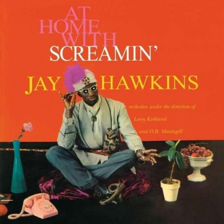 """SCREAMIN' JAY HAWKINS """"AT HOME WITH"""" LP"""