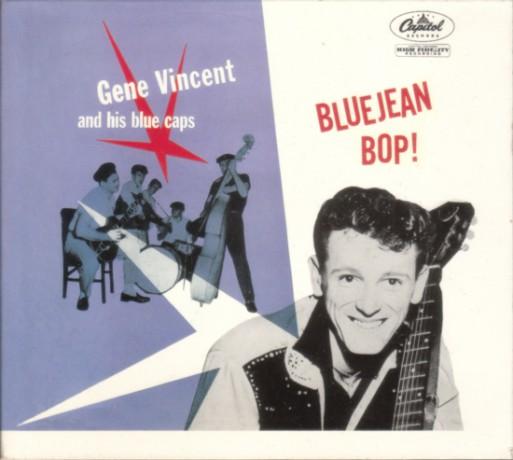 """GENE VINCENT & THE BLUE CAPS """"BLUEJEAN BOP"""" cd"""