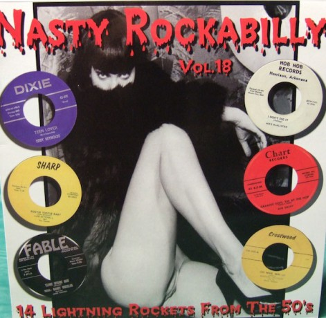 NASTY ROCKABILLY Volume 18 LP
