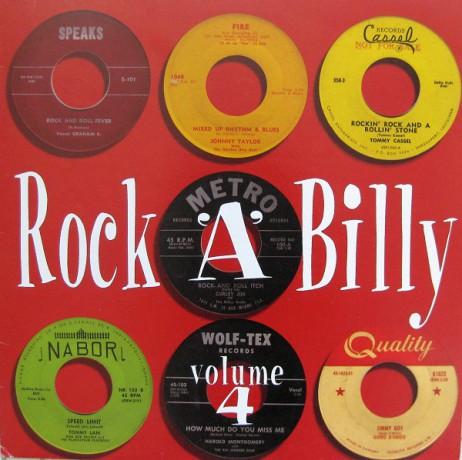 ROCKABILLY VOLUME 4 LP