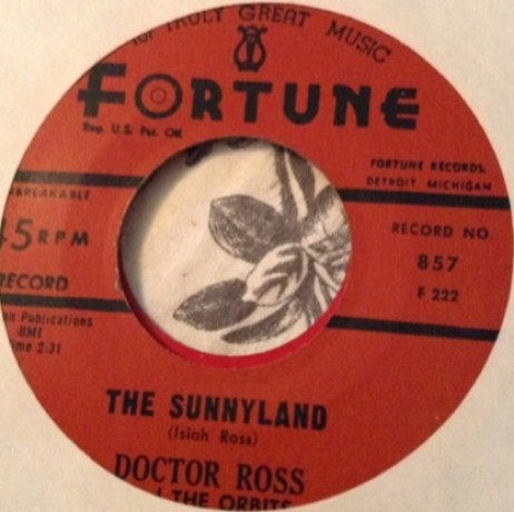 """DOCTOR ROSS """"CAT SQUIRREL/THE SUNNYLAND"""" 7"""""""