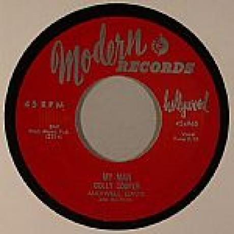 """Dolly Cooper & Maxwell Davis & His Orch """"My Man / Ay La Bah"""" 7"""""""
