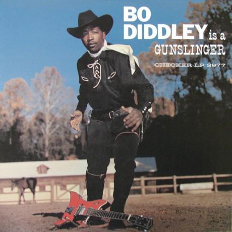 "BO DIDDLEY ""IS A GUNSLINGER"" LP"