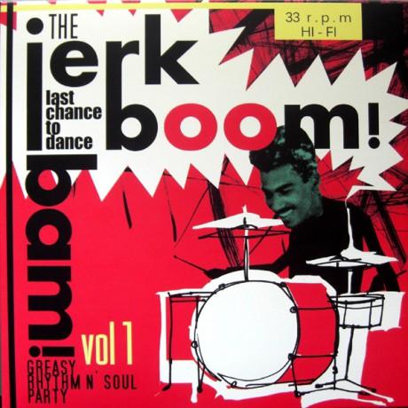 """JERK BOOM! BAM! """"Volume 1"""" LP"""