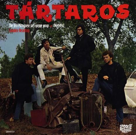 "TARTAROS ""The First Portuguese Surf-Garage Group"" LP"