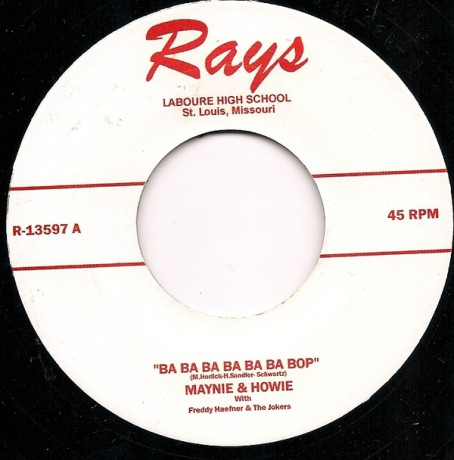 "MAYNIE & HOWIE ""BA BA BA BA BA BA BOP/LIBRARY ROCK"""