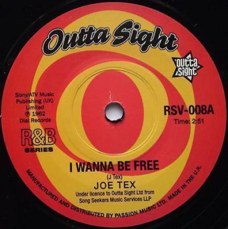 "JOE TEX ""I Wanna Be Free/ / Old Time Lover"" 7"""