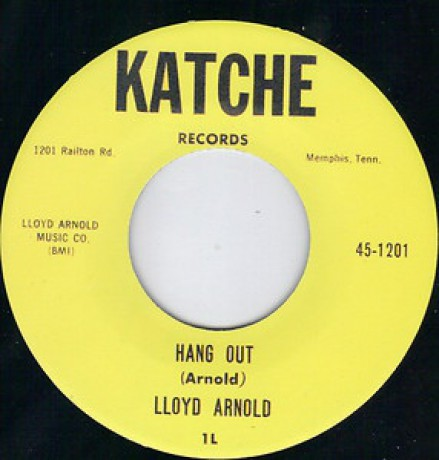 "LLOYD ARNOLD ""HANG OUT/DO YOU LOVE ME"" 7"""