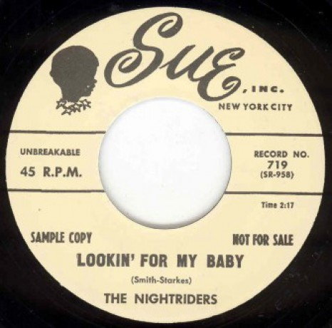 """NIGHTRIDERS """"LOOKING FOR MY BABY/ST LOO"""" 7"""""""