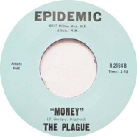 "PLAGUE ""GO AWAY / MONEY"" 7"""