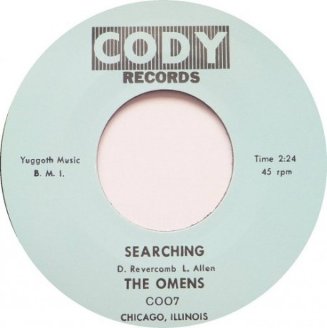 "OMENS ""SEARCHING / GIRL GET AWAY"" 7"""