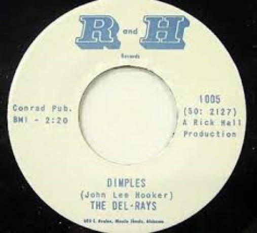 """DEL-RAYS """"DIMPLES / FORTUNE TELLER"""" 7"""""""