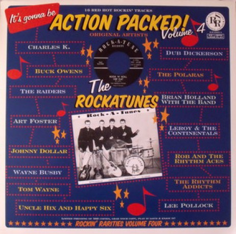 ACTION PACKED VOLUME 4 LP