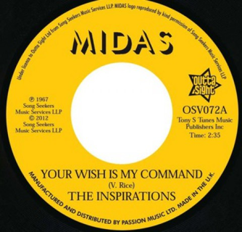 "Inspirations ""Your Wish Is My Command / I'll Take A Chance On You"" 7"""