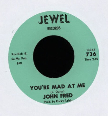 "JOHN FRED ""LENNE / YOU'RE MAD AT ME"" 7"""